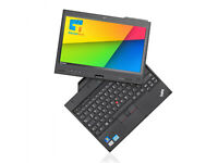 "Lenovo ThinkPad X230 Tablet Core i5 3320M 4GB RAM 128GB SSD 12"" TOUCH Win 7 pro"