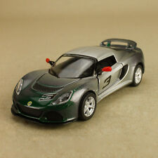 2012 Lotus Exige S Model Car Green Silver Ombre 1:32 12.5cm DieCast PullBack OLP