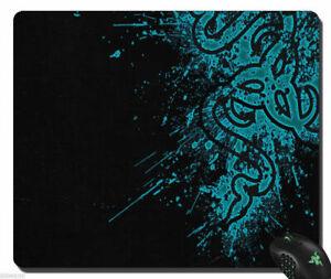 Razer Goliathus Speed Soft Gaming Mouse Pad Mat Large size Black/Blue 13'' x17''