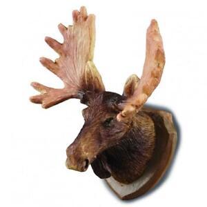 Dolls House Moose Head Wall Mount Miniature Reutter Hunting Study Den Accessory