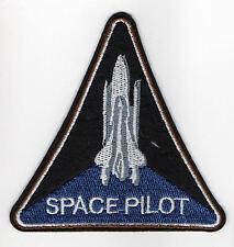 Space pilota ricamate orbita Luna spaceshuttle allunaggio Cosmo Spazio Patch