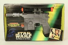 Star Wars Battery Operated Water Blaster POTF2 Larami 1996 Han Solo  MIB