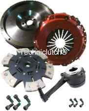 FLYWHEEL AND 6 PADDLE H'DUTY CLUTCH KIT CSC VW GOLF 1.9TDI 1.9 TDI 4MOTION AJM