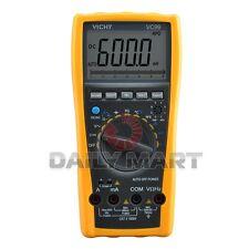 VICHY NEW VC99 3 6/7 LCD AUTO RANGE DMM DIGITAL MULTIMETER ANALOG BAR, VOLT TEST