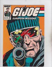 Marvel Comics Group! GI Joe: European Mission! Issue 7!