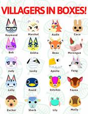 Animal Crossing ANY Villager Raymond Judy Marshal Dom ACNH
