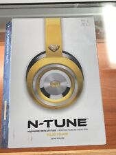 Monster N-Tune Noise Isolating On-Ear Headphones w/ ControlTalk - Solar Yellow