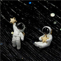 Space Astronaut Star Fashion Jewelry Women Gifts Stud Earrings Ear Stud LD