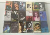 Cassette Tape Bundle Job lot 80s 90s Pop indie alternative X 18 collection #2