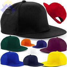 Cappellino RAP Cappello PIATTO Snapback BEECHFIELD Rapper HIP HOP Uomo  DONNA Cap 198aae2a590f