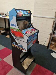 Arcade Machine 2 Player - OUTRUN Design over 7000 Games + Illuminated Buttons
