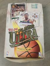 1993-94 Fleer Ultra 1 Unopened Wax Box - NBA Basketball 36 Packs