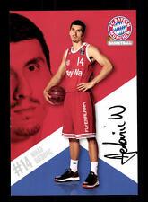 Nihad Diedovic Autogrammkarte Bayern München Original Sign Basketball+A 164047