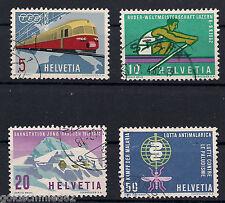 Schweiz - 1962 - Mi. Nr. 747-750 - Gestempelt