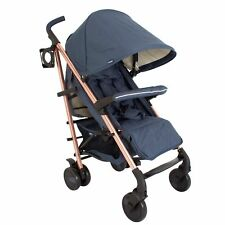 My Babiie MB51 From Birth Baby Stroller / Pram - Rose Gold and Navy
