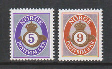 2002 NORWAY POSTHORN  5 and 9 Kroner  NK 1454-55  MNH