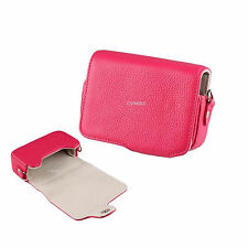 12P Pink Learther Camera Case For SAMSUNG WB50F
