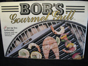 BBQ Grill accessory for cooking on charcoal or gas