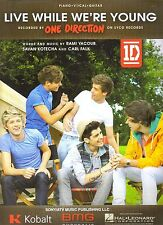 One Direction  Live While We're Young   Sheet Music