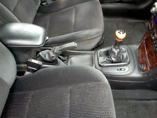 OPEL VECTRA B HEADPHONE GEAR LEVER E HANDBRAKE BLACK LEATHER