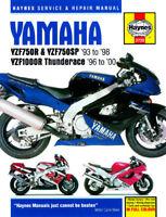 Yamaha YZF750 YZF750SP YZF1000 YZF1000R Thunderace 1993-2000 Haynes Manual 3720