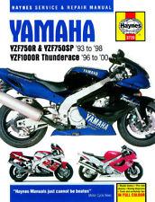 Yamaha YZF750 YZF750SP YZF1000 YZF1000R Thunderace 1993-00 Haynes Manual 3720