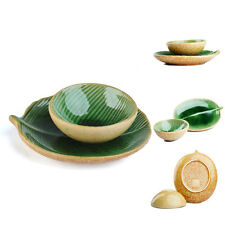 New 2 Set Chinese Traditional Ceramics Kungfu Lotus Leaf  Tea Cup