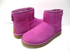 UGG CLASSIC MINI II WOMEN ANKLE BOOTS SUEDE PINK US 10 /UK 8.5 /EU 41