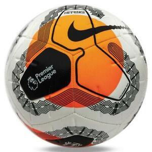 Nike Strike Premier League 2019-2020 Soccer Ball White Multi Size Football