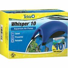 Tetra Whisper 10 Aquarium Air Pump for Up to 10 Gallon Aquariums