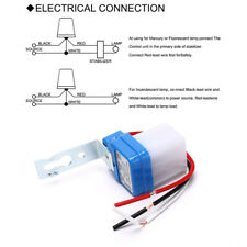 Automatic On Off Photocell Street Lamp Light Switch Controller Dc Ac 220v Switc