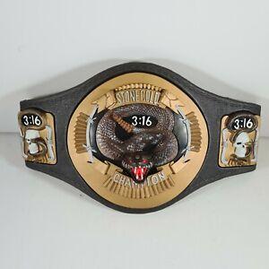 WWF Stone Cold Rattlesnake Grapple Belt 1999 Championship Jakks Pacific RARE