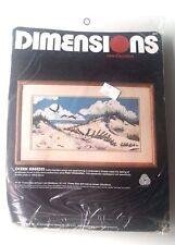 Ocean Breeze Needlepoint Kit Dimensions Slobodian 1996 MPN 2314 Seagulls Dune