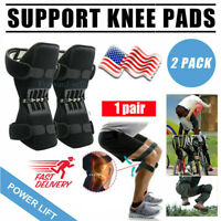 2x Joint Support Knee Pads Non-slip Power Lift Rebound Spring Force USA Unisex