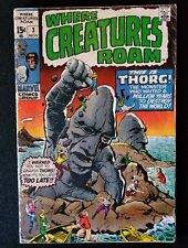 Marvel Comics Where the Creatures Roam #3 (1970) ~ THORG! ~ DITKO ART!