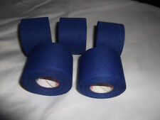 "BLUE ATHLETIC TAPE  5  rolls  1.5""x10yds.  *  COSMETIC SECONDS *"