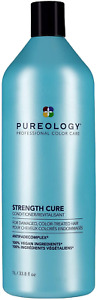 Pureology Strength Cure Conditioner | For Damaged, Color-Treated Hair 266 ml