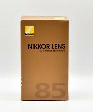Nikon Nikkor AF-S 85mm F/1.8 G AF-S Objektiv -DEUTSCHE WARE - NEU OVP