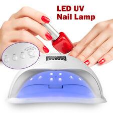 48W SUN5 LED Nail Light UV Lamp Manicure Dryer Curing Gel Nail Polish Art Timer