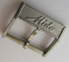 Nos. Swiss Mido buckle in stainless steel 16 millimeters