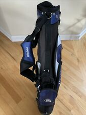 Winfield Junior Golf Bag Blue, Black and White Used but in good condition