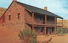 SANTA CLARA, UT Utah  JACOB HAMBLIN HOME~Mormon Missionary to Indians  Postcard