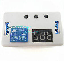 2pcs LED Delay Timer Control Switch Relay Module Automation 12V + case