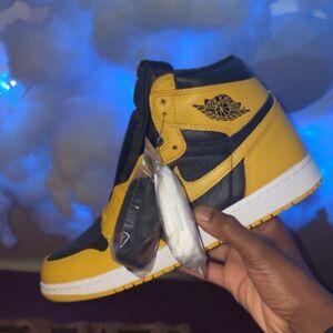 """Jordan OG 1 high """"Pollen"""" size 10.5 DEADSTOCK from SNKRS"""