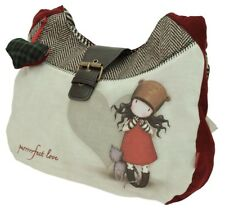 Santoro Gorjuss Womens Slouchy Shoulder Bag - Purrrrrfect Love
