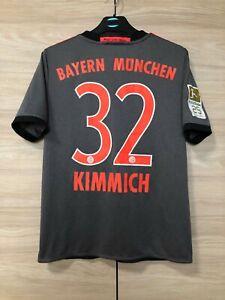 Bayern Munich 2016-2017 Kimmich #32 Away Shirt Jersey Kids L boys 13-14 years