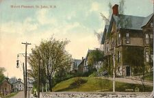 Postcard New Brunswick St John Mount Pleasant 1922 Unused Valentine & Sons