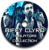 BIFFY CLYRO HEAVY ROCK GUITAR TAB TABLATURE SONG BOOK SOFTWARE CD