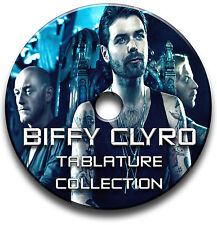 BIFFY CLYRO HEAVY ROCK GUITAR TAB TABLATURE SONG BOOK SOFTWARE CD