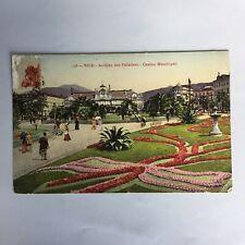 Nice Jardins des Palmiers Casino Municipal France Carte Postale Postcard